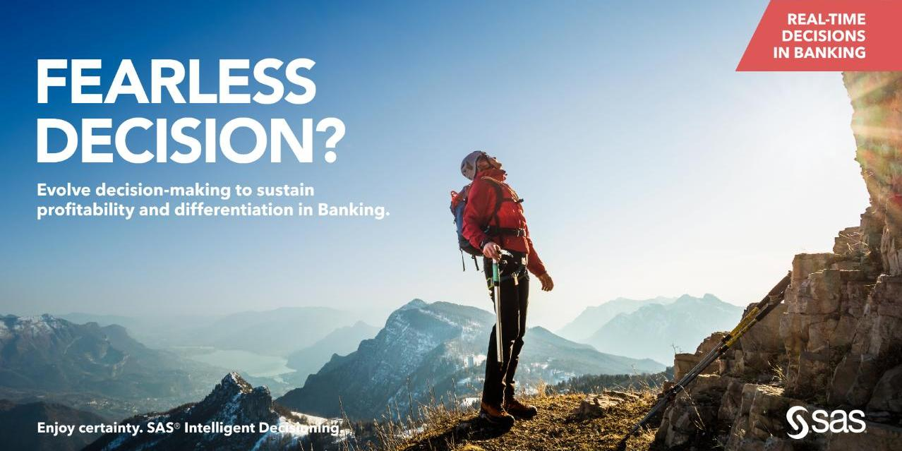 Fearless Decision? - Real-time decisions in Banking