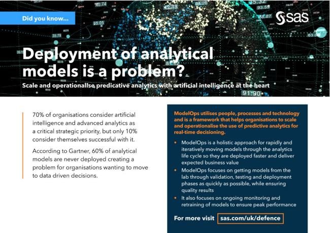 Deployment of analytical models is a problem?