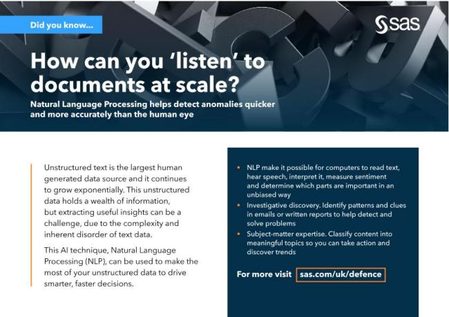 How can you 'listen' to documents at scale?