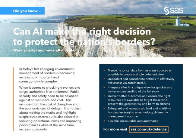 Can AI make the right decision to protect the nation's borders?