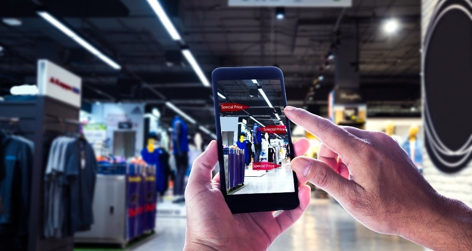 In Store Mobile Experience