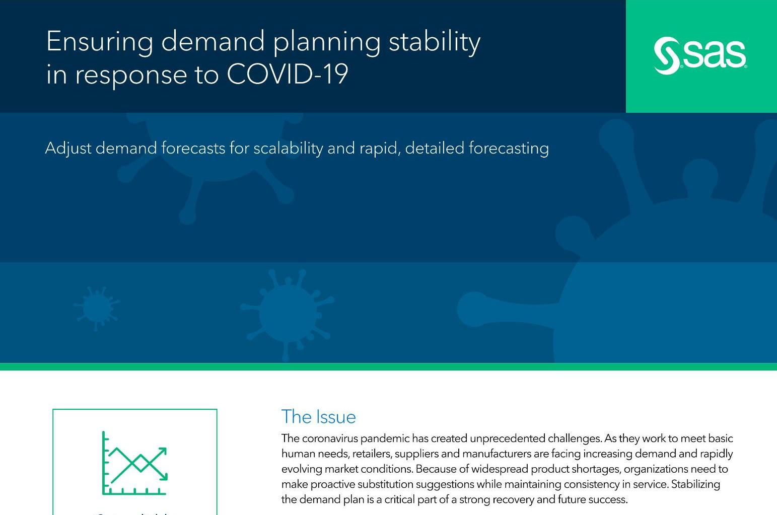Ensuring demand planning stability in response to COVID-19