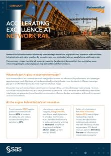 Summary - Accelerating excellence at network rail