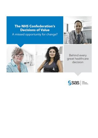 Opinion Paper: The NHS Confederation's Decisions of Value: A missed opportunity for change?