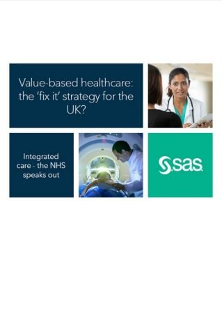 Value based healthcare: the 'fix it' strategy for the UK? The NHS speaks out