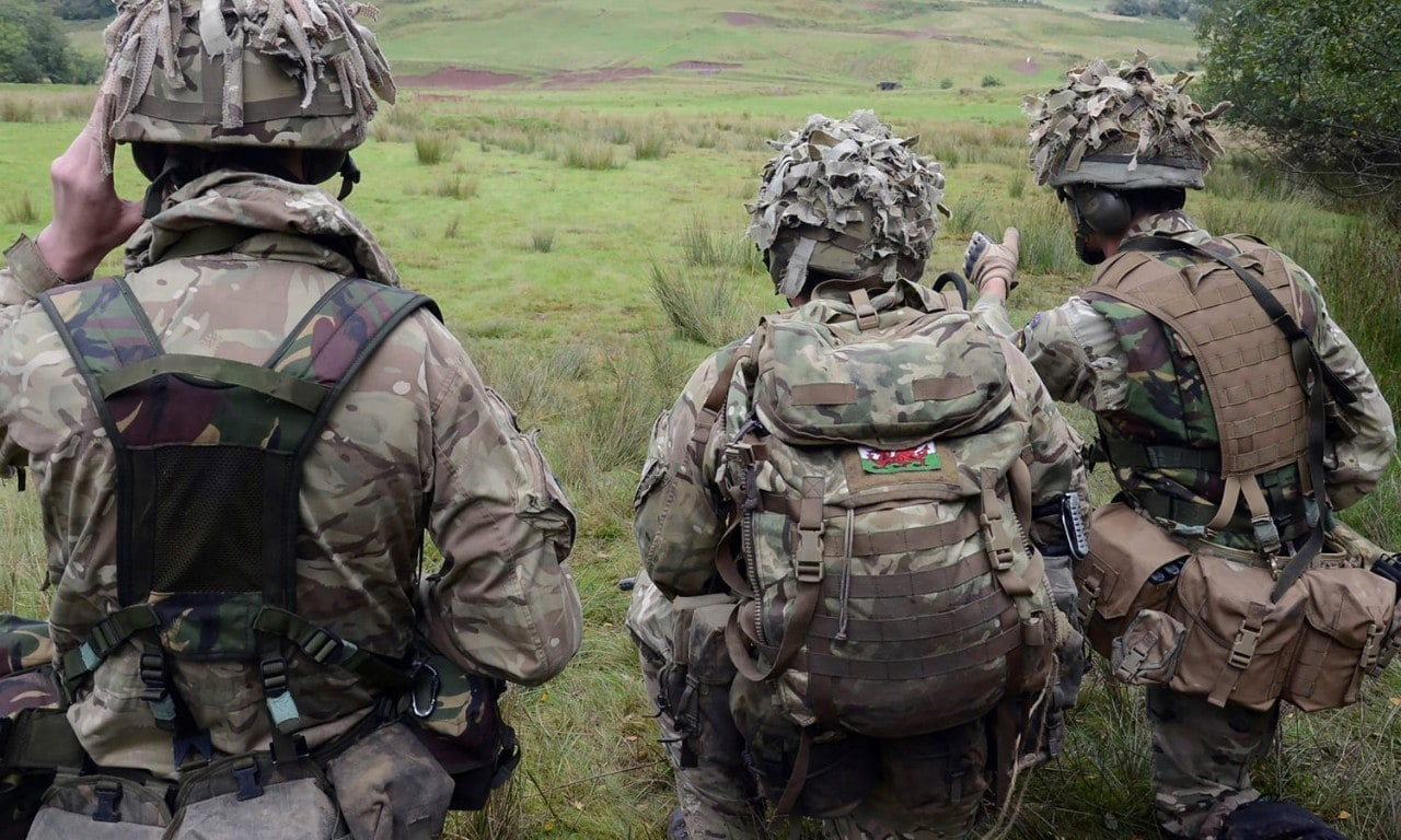Military Personnel On a Training Exercise
