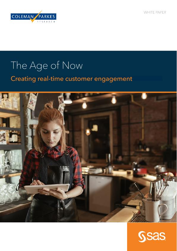 Coleman Parkes research paper: The Age of Now