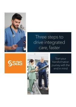 Three steps to drive integrated care, faster