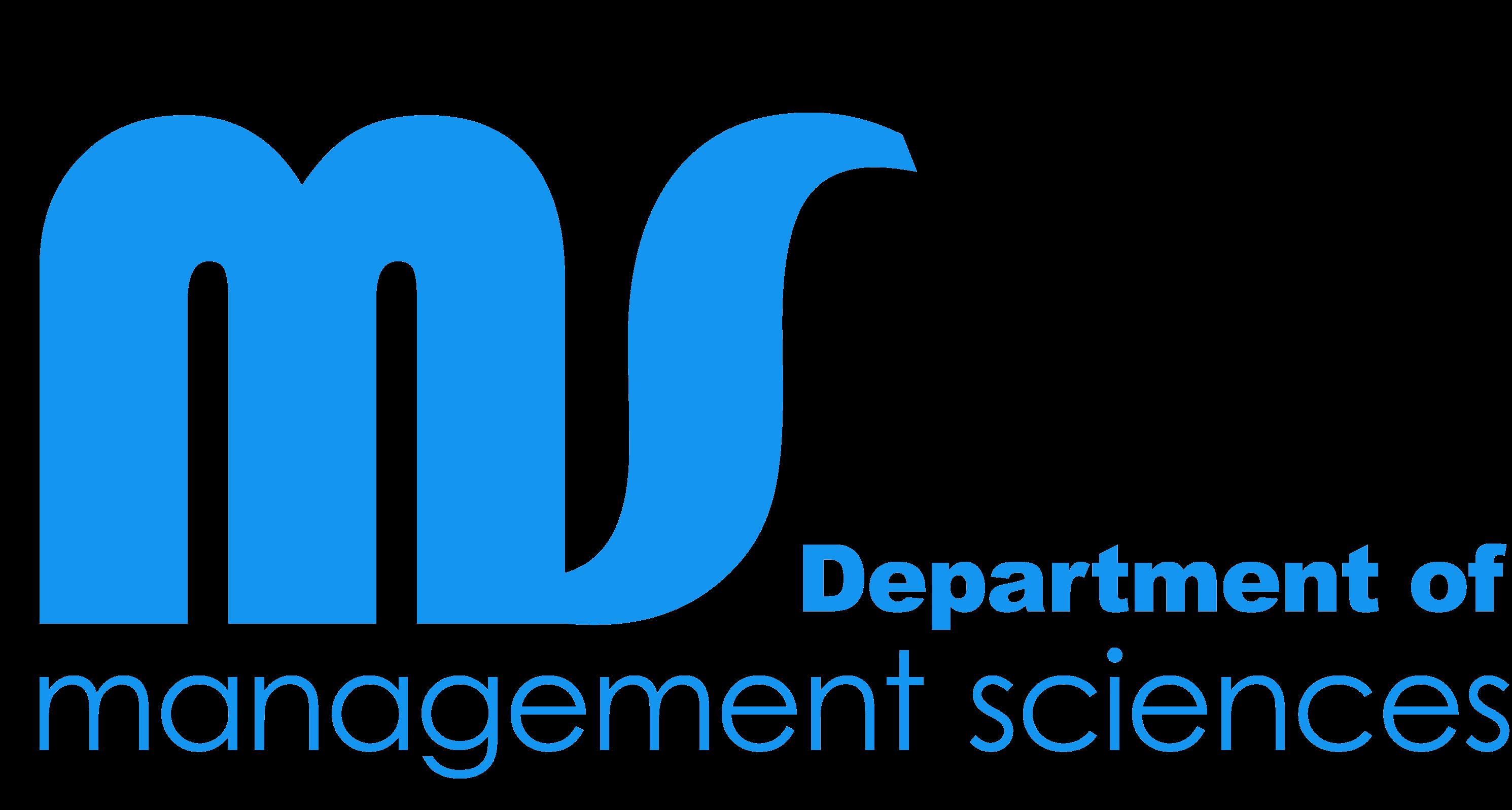 department-of-management-sciences