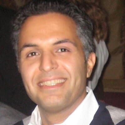 Shahram Mehraban, a marketing director in Intel's Internet of Things group