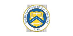 Department of Treasury Logo