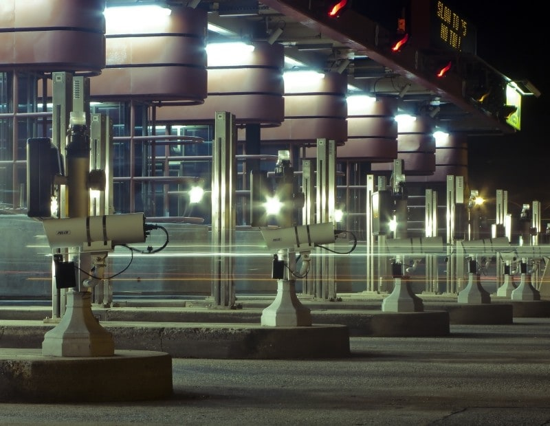 IoT and unmanned toll booth