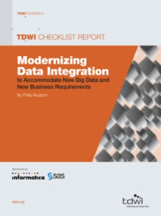 Modernizing Data Integration to Accommodate New Big Data and New Business Requirements