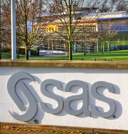 SAS UK Entrace