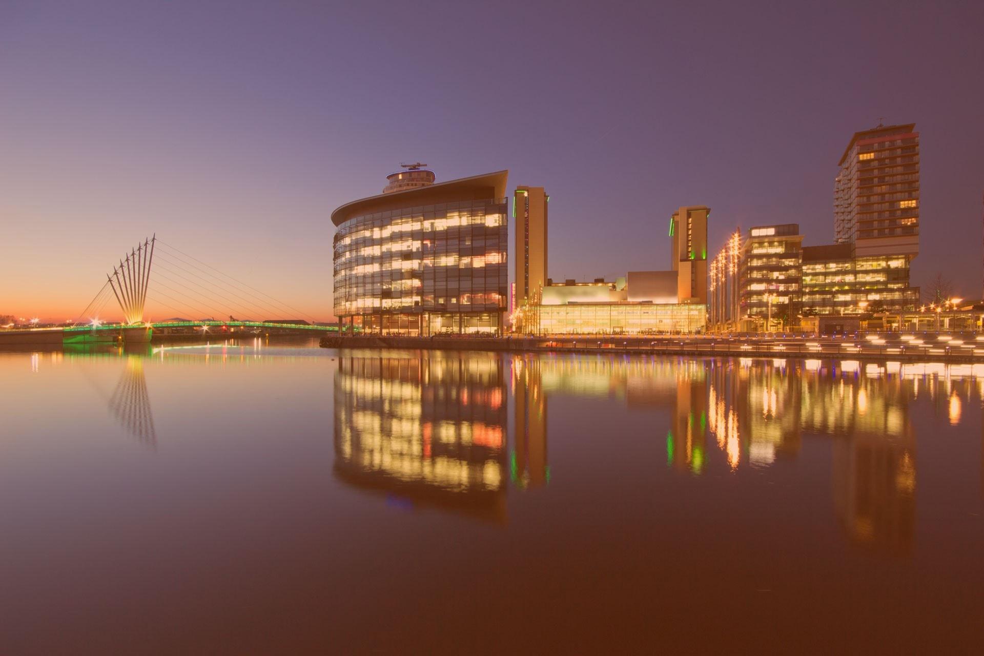 Manchester, Salford University, Media City