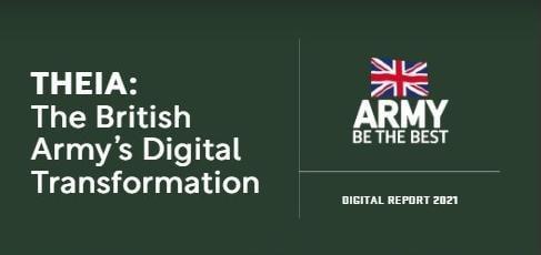 Technology Magazine Cover - British Army