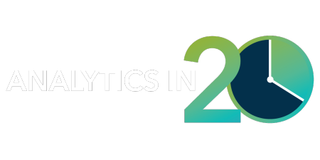 Analytics in 20 logo
