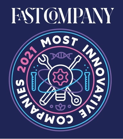Fast Company 2021 Most Innovative Companies logo