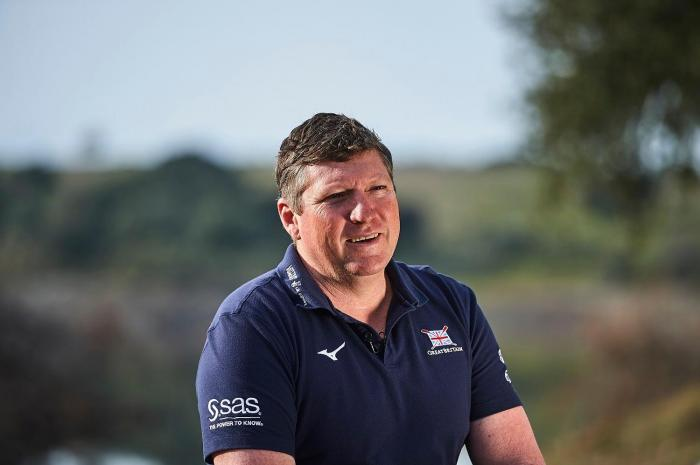 Brendan Purcell Director of Performance for British Rowing