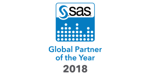 SAS 2018 Global Partner of the Year badge