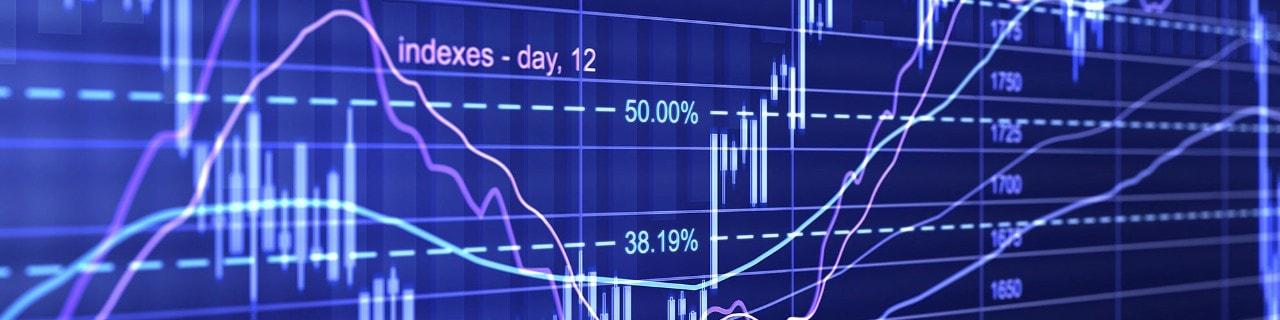 Chart displaying volatility