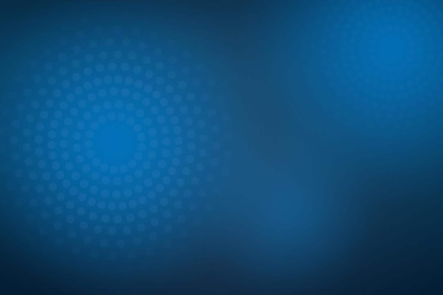 Blue background with radiance circles