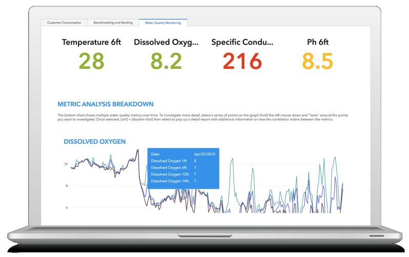 Screenshot of SAS software on laptop