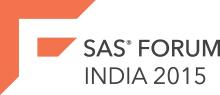 SAS Forum India 2015 Logo