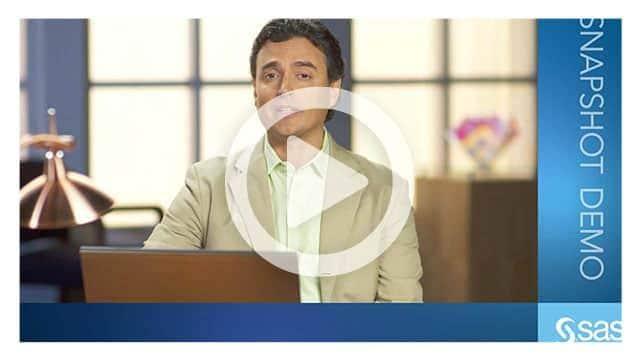 SAS® Data Management - Manage Your Data Beyond Boundaries Demo video thumbnail