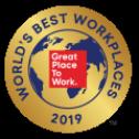 2019 World's Best Workplace award logo