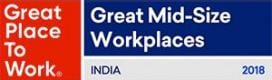 2018 GPTW - India's Great-Mid-Size-Workplaces