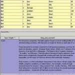 SAS Text Miner thumbnail showing interactive GUI