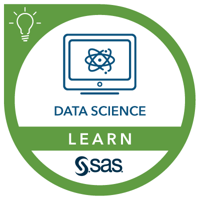 SAS Learn Badge for Data Science