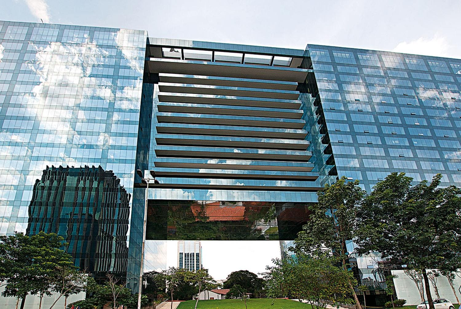 Sao Paulo Brazil office buillding