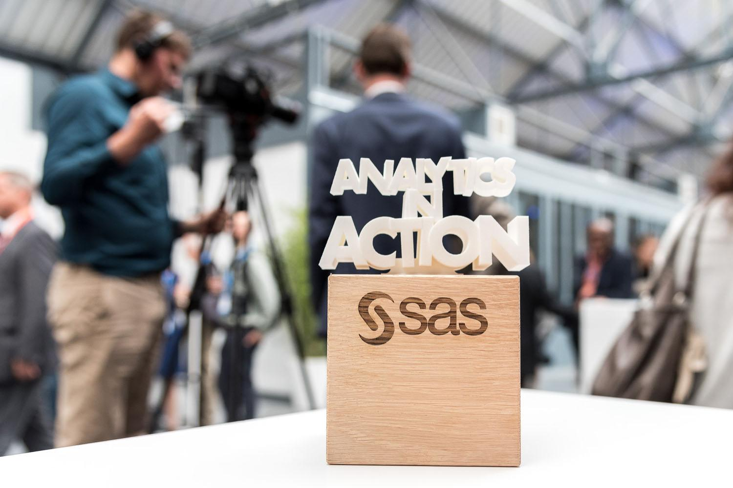 Analytics in Action Award at SAS Forum BeLux 2017