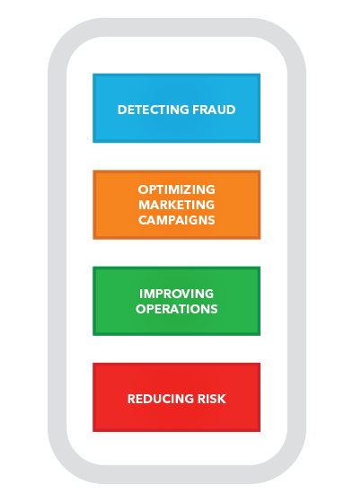 Predictive analytics info graphics