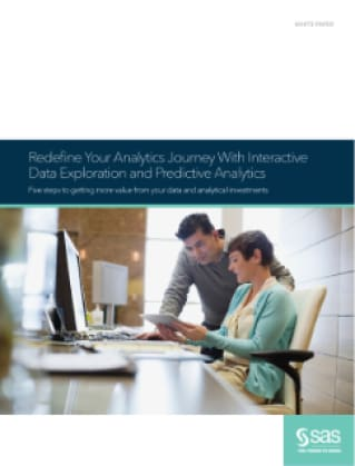 BI Redefine Your Analytics Journey With Self-Service Data Discovery and Interactive Predictive Analytics