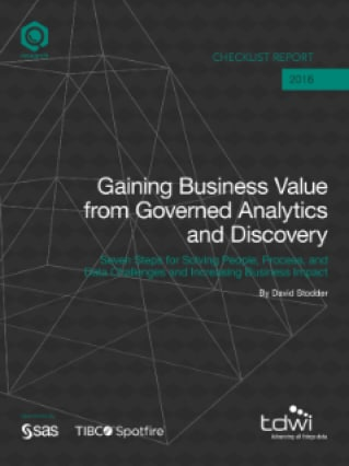Gaining Business Value from Governed Analytics and Discovery