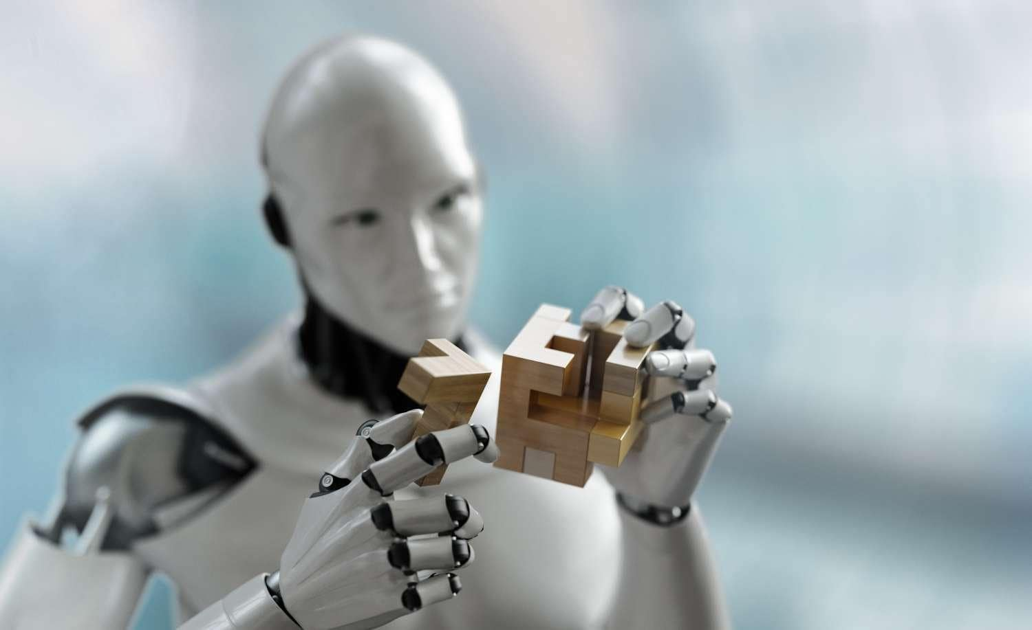 Robot Solving Puzzle Using Artificial Intelligence