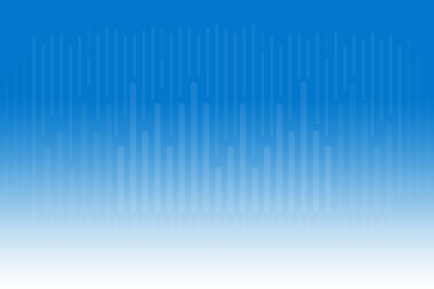 Abstract Data Visualization art - gradient white to cobalt blue