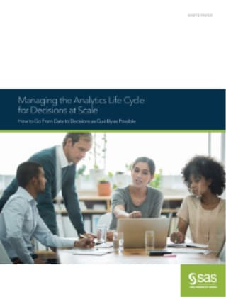 Managing the Analytical Life Cycle for Decisions at Scale