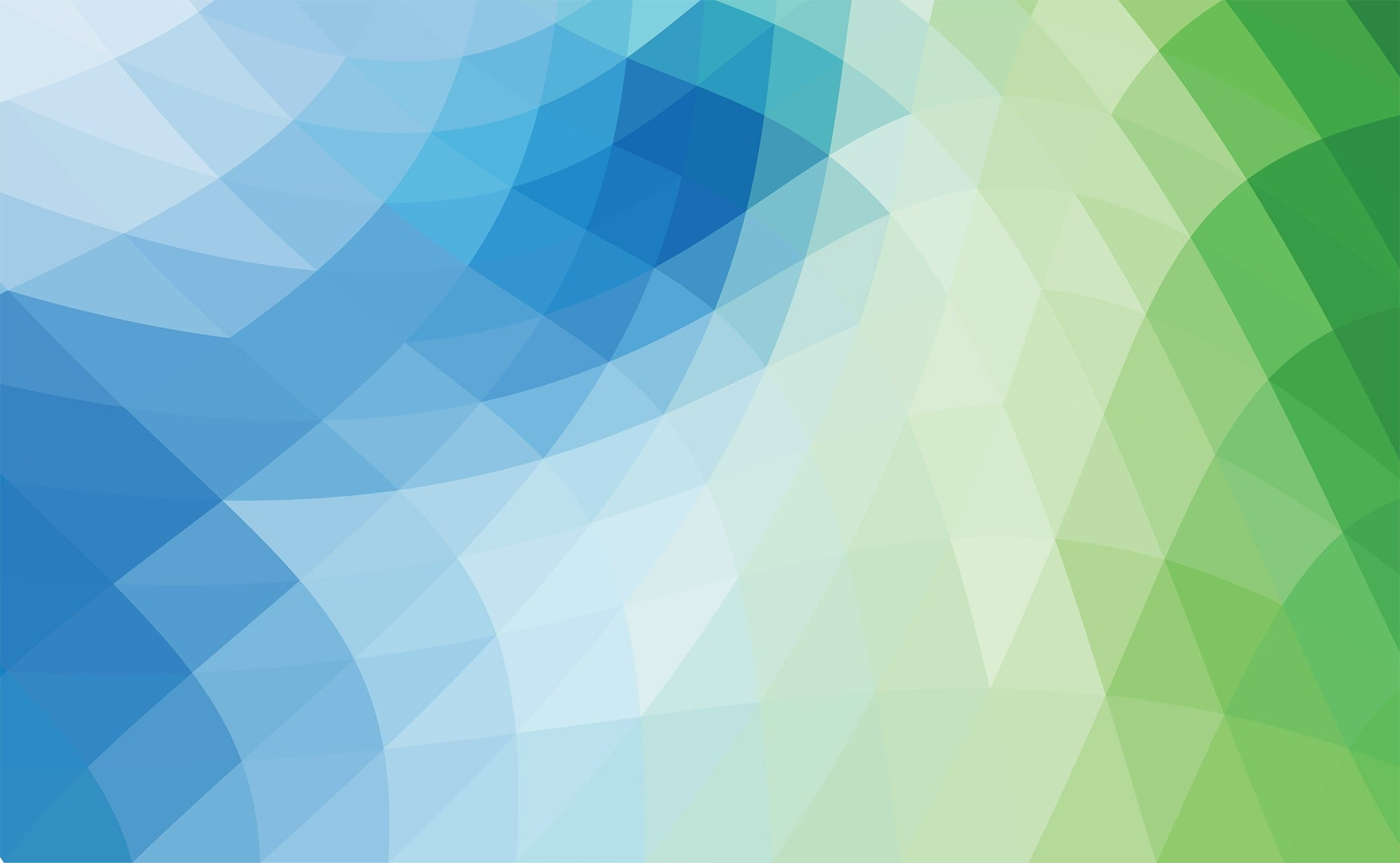 Blue Green abstract art
