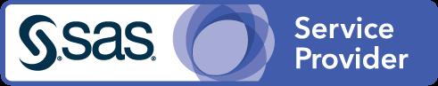 SAS Service Provider badge