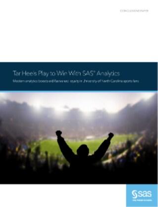 Tar Heels Play to Win With SAS Analytics