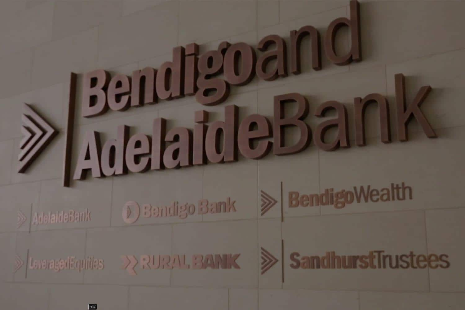 Bendigo and Adelaide Bank video still