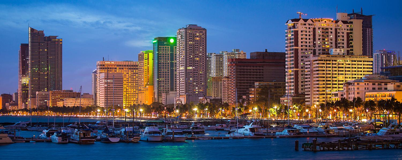 Manilla Philippines skyline