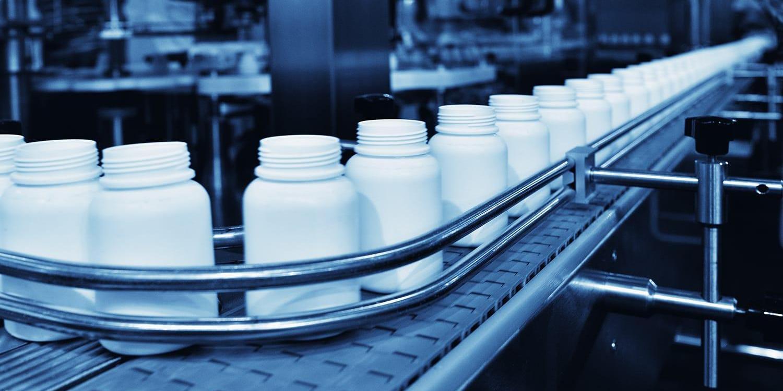 Medicine filling in production line