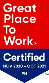 Great Place to Work Philippines 2020