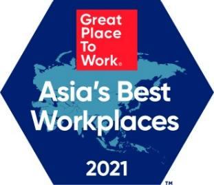 Great Place to Work Asia 2021