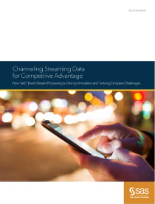 Channeling Streaming Data for Competitive Advantage